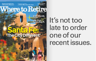 Recent issues included retirement cities in Florida, North Carolina, Tennessee and Texas. Order your copies today.