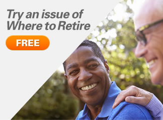 Try an issue of Where to Retire FREE!